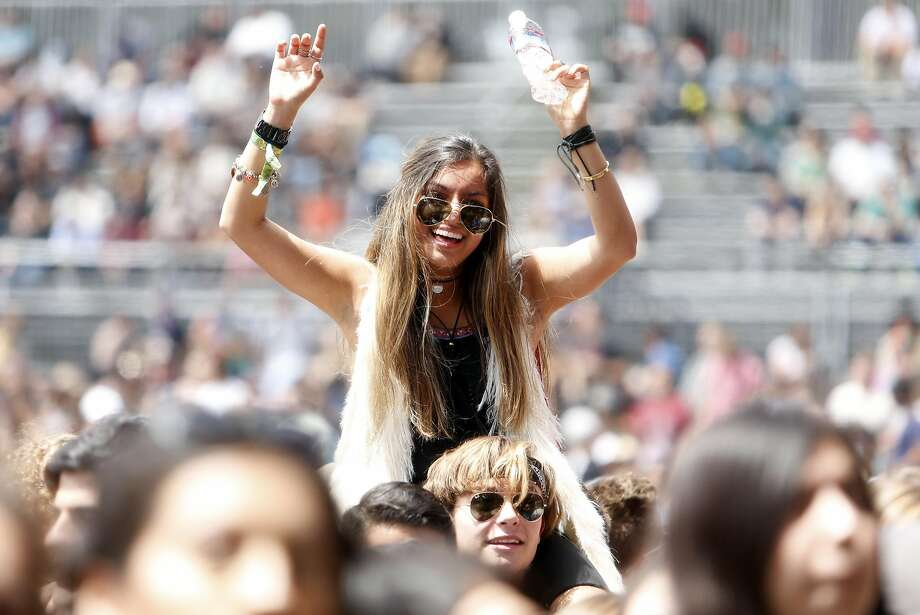 Click ahead to see the best fashion from the first decade of Outside Lands.  Photo: Scott Strazzante, The Chronicle