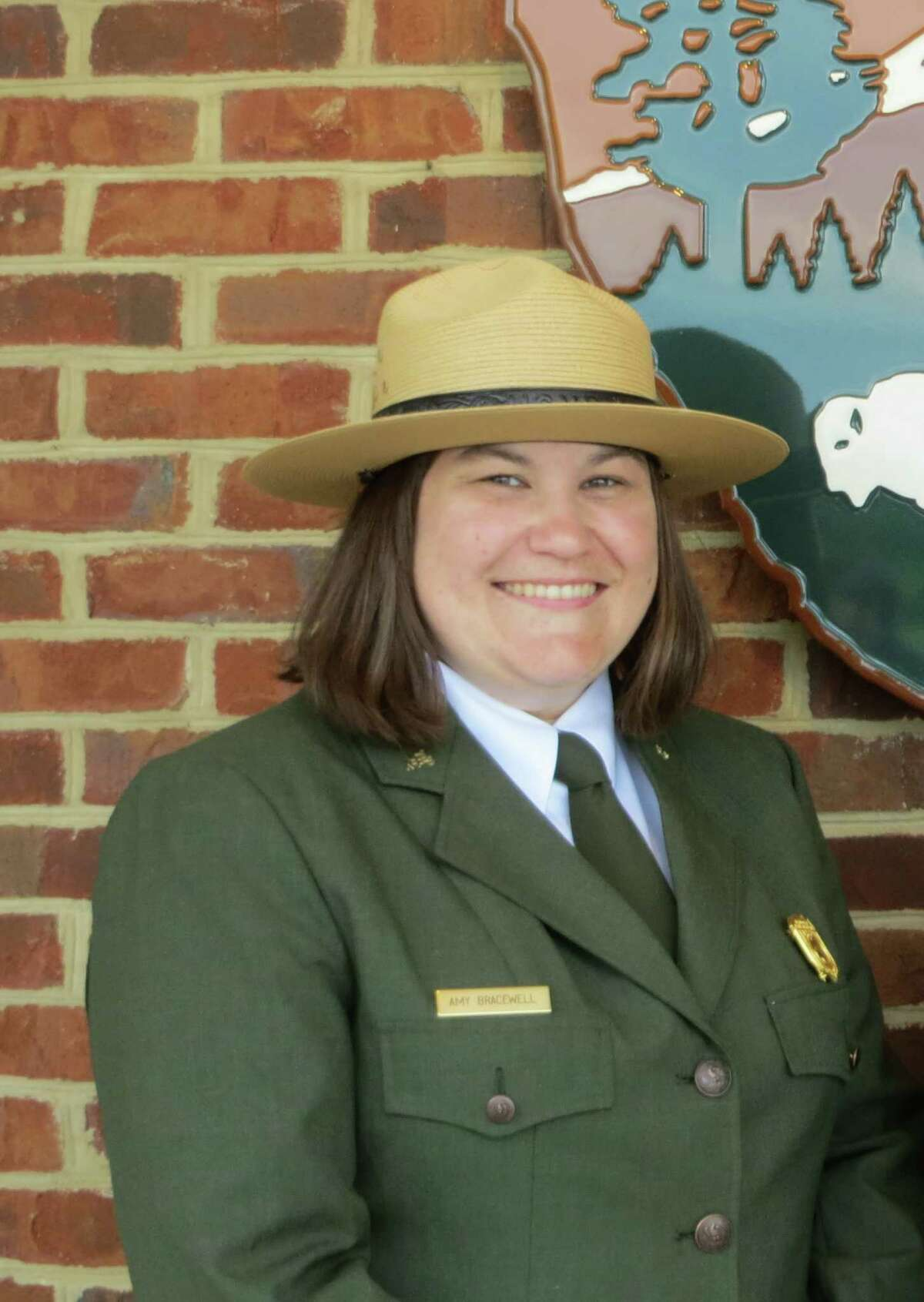 Amy Bracewell, superintendent of the Saratoga Battlefield site.