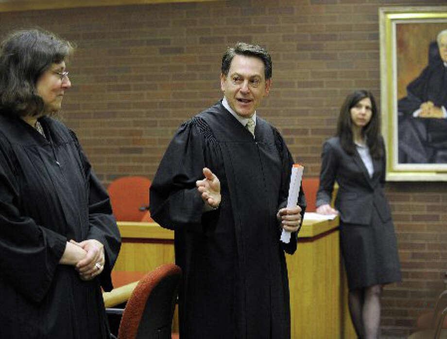 Danbury Superior Court Judge Dan Shaban Photo: / Carol Kaliff