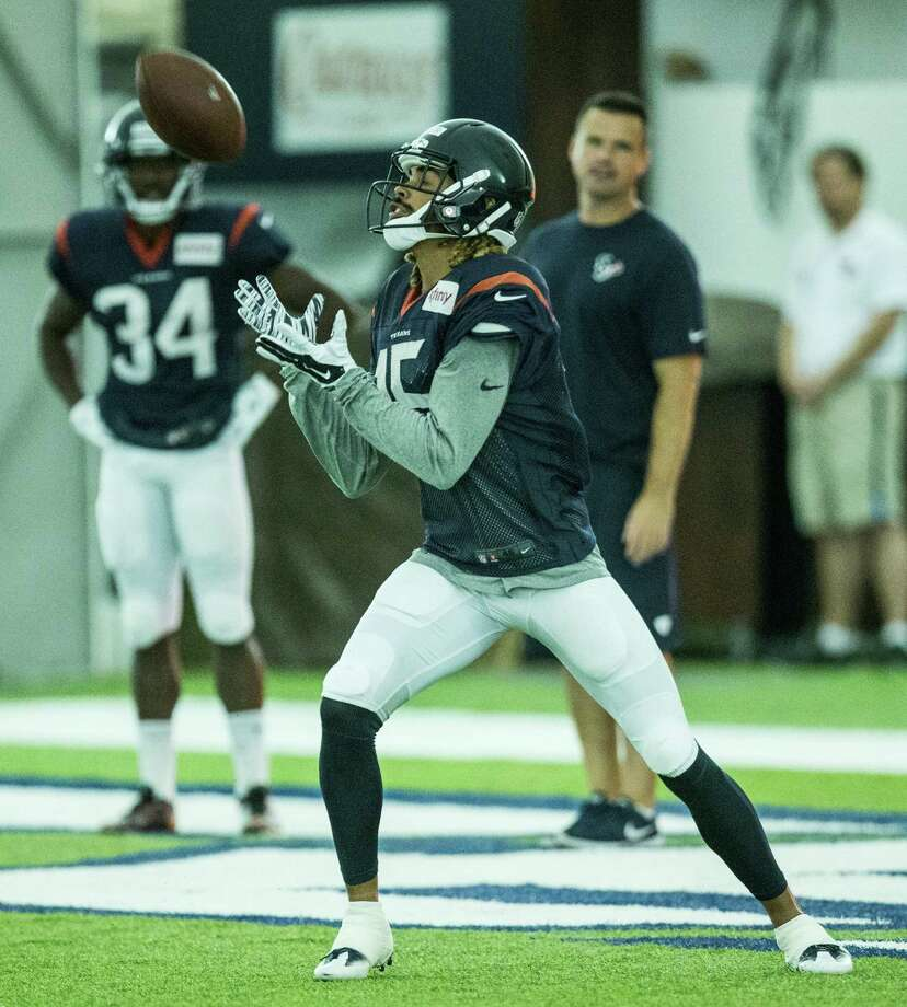 First-round draft pick Will Fuller has impressed with his pass-catching ability during Texans camp.Click through the gallery to see more photos from Tuesday's practice. Photo: Brett Coomer, Houston Chronicle / © 2016 Houston Chronicle