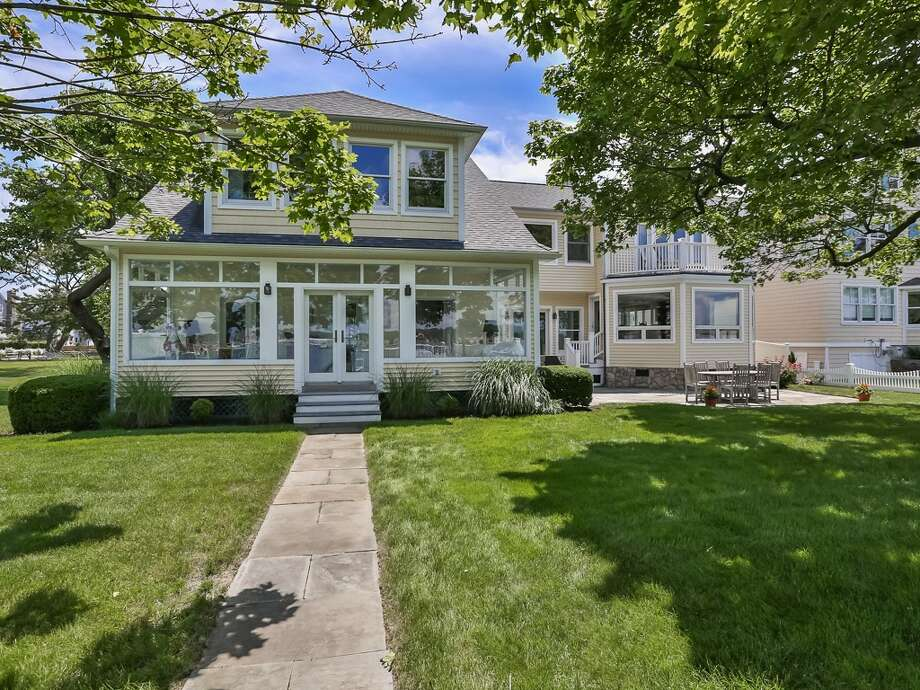 9 Sylvester Ct, Norwalk, CT 06855 Pre-forclosure Foreclosure estimate: $2.83M  5 beds 5 baths 4,124 sqft  Features: Waterfront views, wrap-around porch, boat dock, walking distance to Shore & Country club with tennis, pool, marina and restaurant View full listing on Zillow Photo: Zillow