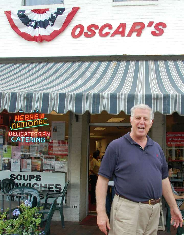 Lee Papageorge, who has owned and operated Oscar's deli on Main Street since 1974, died Monday. Photo: Jarret Liotta / Jarret Liotta / Westport News contributed