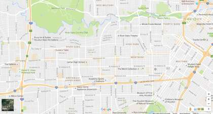 What the new Google Maps says about Houston - HoustonChronicle.com Downtown Houston Hotels Map on
