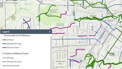 The Houston Bike Plan.