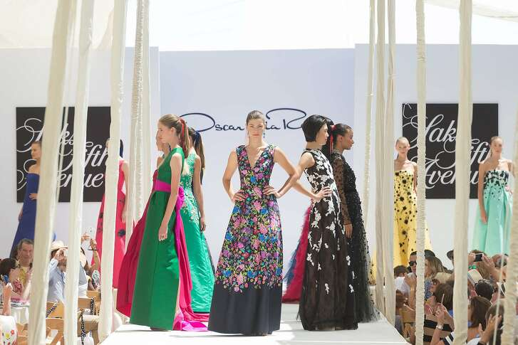 Saks Fifth Avenue hosted the annual League to Save Lake Tahoe fashion show featuring the Oscar de la Renta Fall 2016 Collection. August 2016.