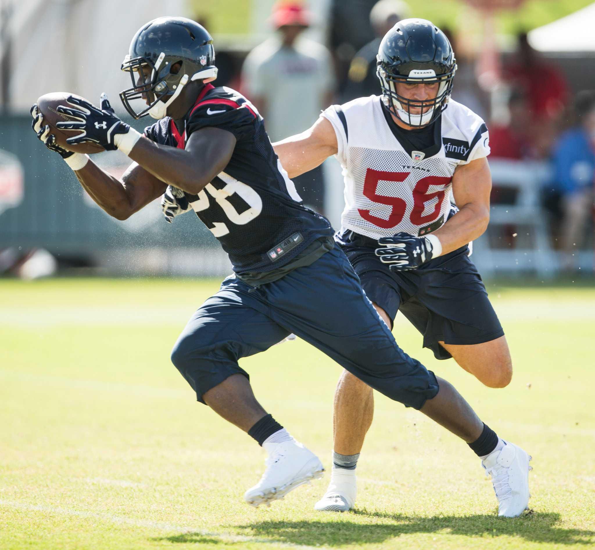 Shoulder Ailment Sidelines Texans' Alfred Blue