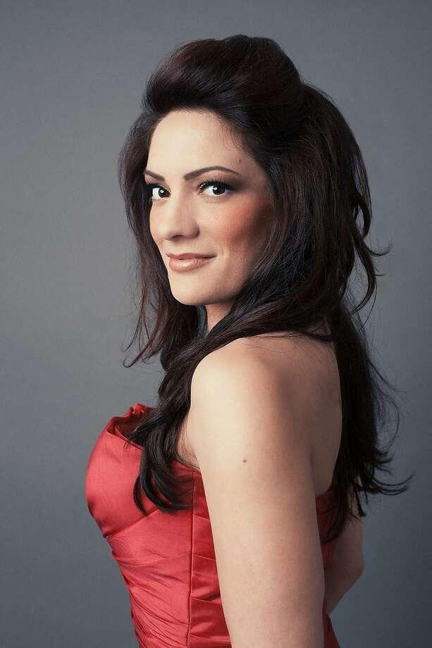 "Soprano Sarah Fletcher is an organ izer of ""Songs From Exotic Lands."" Photo: Valentina Sadiul"