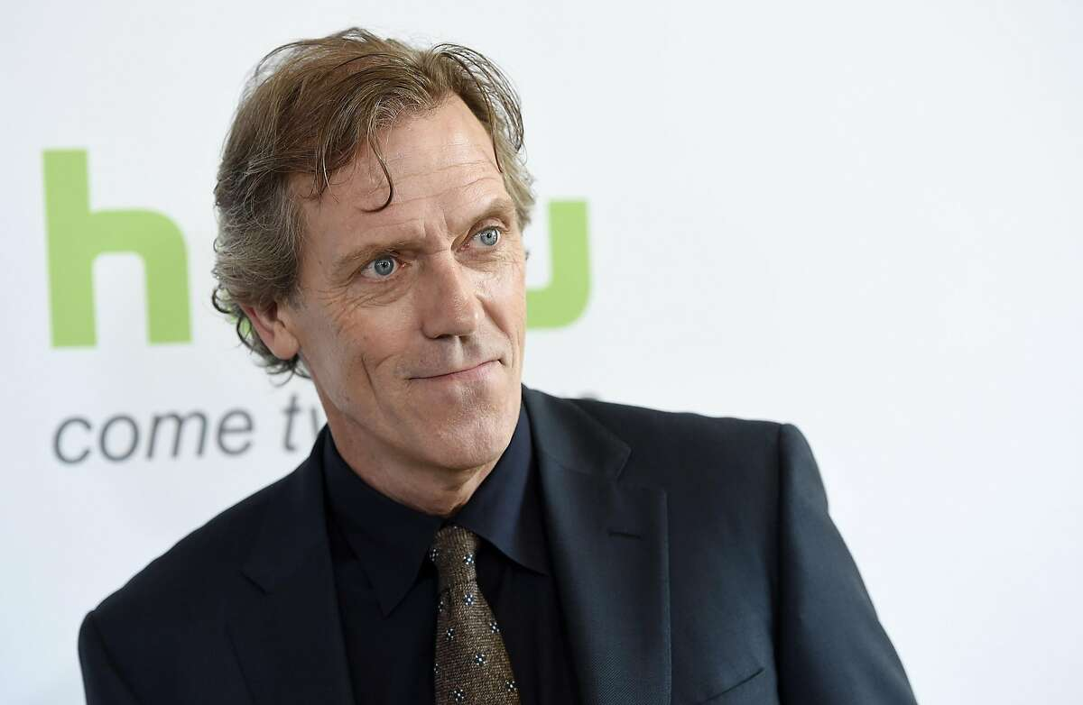 """Hugh Laurie, the executive producer and star of the Hulu series """"Chance,"""" poses before the network's panels during the Television Critics Association 2016 Summer Press Tour at the Beverly Hilton on Friday, Aug. 5, 2016, in Beverly Hills, Calif. (Photo by Chris Pizzello/Invision/AP)"""