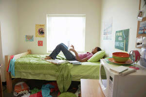 DO BUY: LINENS AND DORM ESSENTIALS    Little kids aren't the only ones who get a break on back-to-school gear this August. College students in need of dorm room decor can also expect to find sales, especially on linens. Everything from sheets to towels will be discounted in August as retailers jump on offering deals for back-to-school shopping right before fall semester.