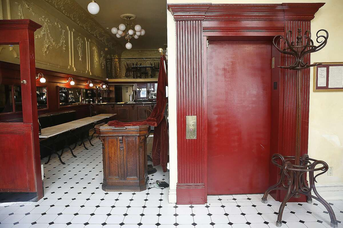 A view of the inside of the historic Jack's restaurant on Monday, August 8, 2016, in San Francisco, Calif.