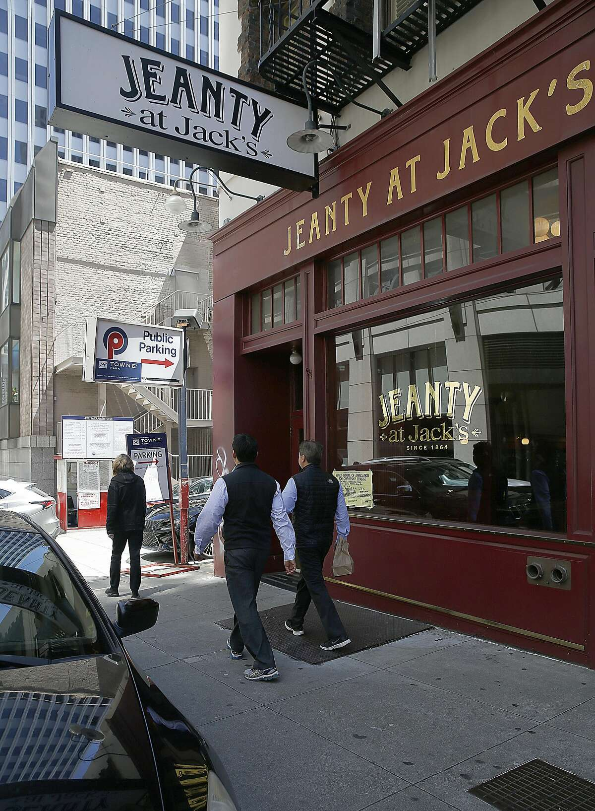 Jack's restaurant is set to become a co-working space on Monday, August 8, 2016, in San Francisco, Calif. Bar Works purchased the freehold to the 6,000 sq ft building for a reported $3.55 million dollars.