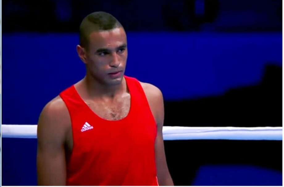 Moroccan boxer Hassan Saada. Saada was arrested on charges of alleged sexual assault in Rio. Photo: Screen Grab: YouTube