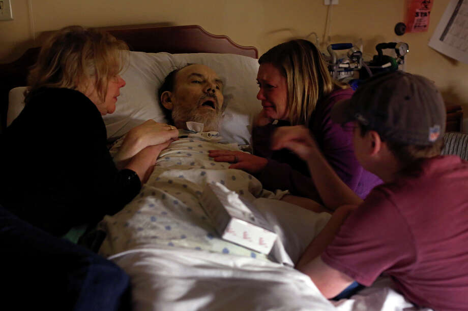 Walt's heart - for decades filled with unbounded love for his wife and kids, his patients and friends -- stopped at 3:33 a.m. May 31, 2016. Photo: Lisa Krantz / SAN ANTONIO EXPRESS-NEWS