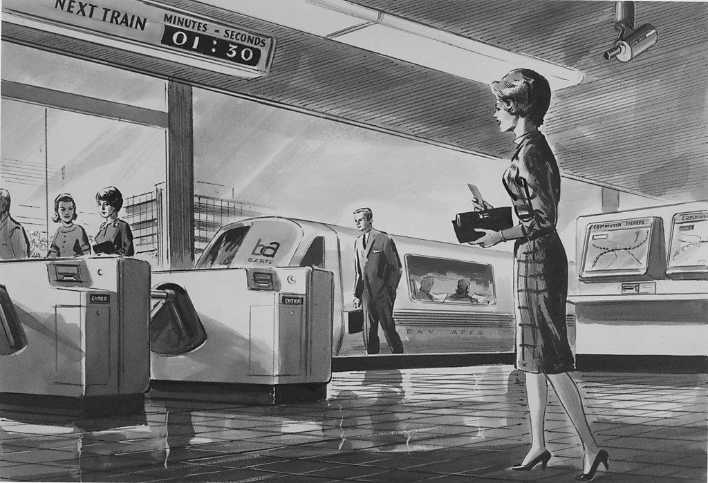 For Luxury BART In 1965 The Future Looked Shiny And Bright