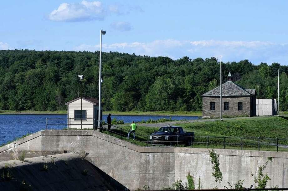 View of the Alcove Reservoir from Route 111 on Monday, Aug. 8, 2016, in Coeymans, N.Y. (Will Waldron/Times Union) Photo: Will Waldron / 20037593A