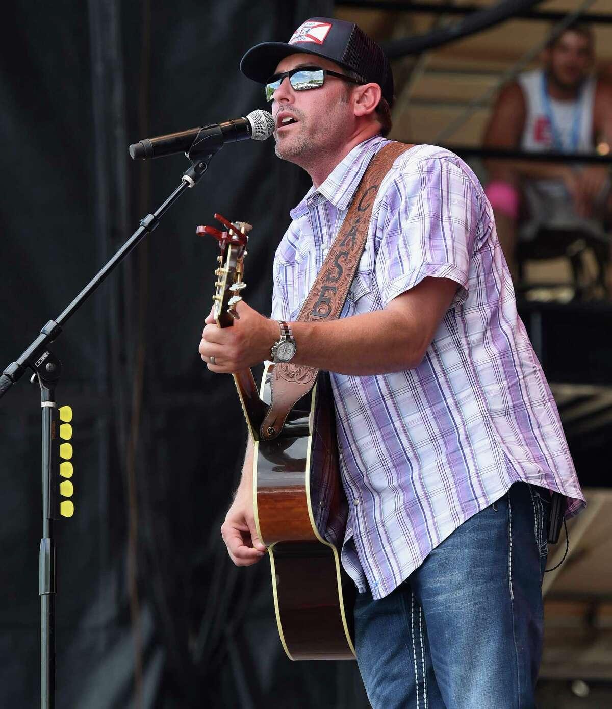 MANHATTAN, KS - JUNE 25: Singer/Songwriter Casey Donahew performs at Kicker Country Stampede Manhattan, Kansas - Day 3 on June 25, 2016 in Manhattan, Kansas.