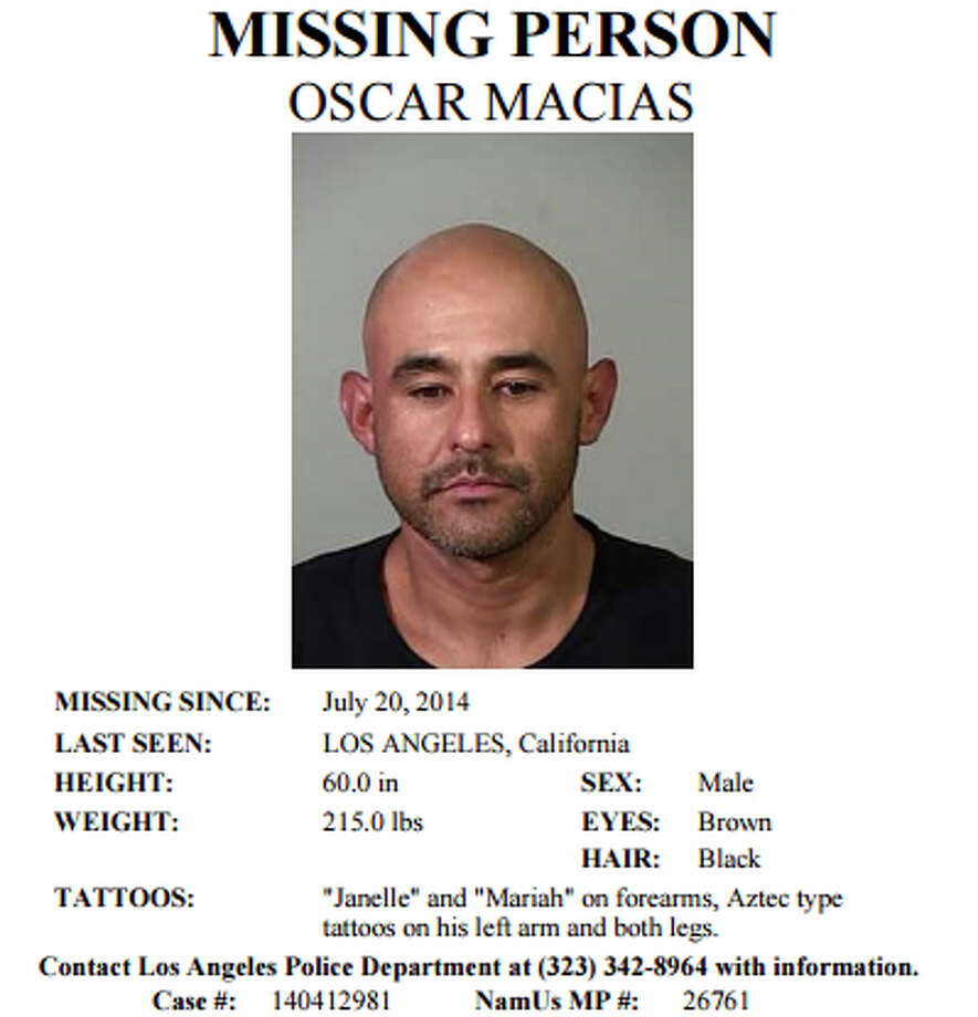 Oscar Macias disappeared in July 2014, a month after he lost a load of methamphetamine prosecutors claim belonged to a fugitive Washington state drug kingpin. Photo: National Center For Missing Persons