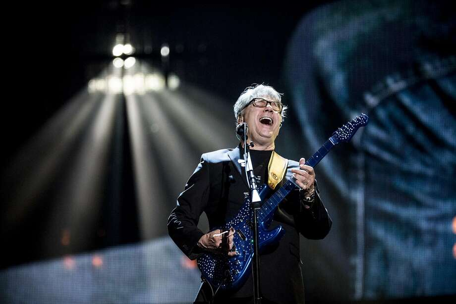 Steve Miller performs at the 31st annual Rock and Roll Hall of Fame Induction Ceremony in New York. Photo: CHAD BATKA, NYT