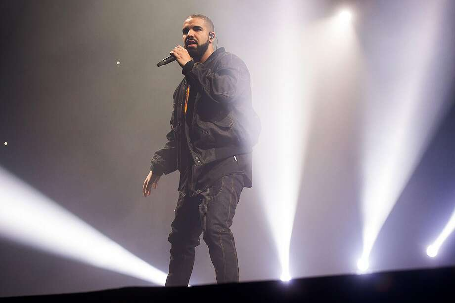 Drake performs in concert as part of the Summer Sixteen Tour at Madison Square Garden in New York. Photo: Charles Sykes, Associated Press