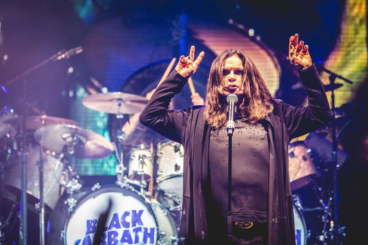 Singer-songwriter Ozzy Osbourne, frontman of Black Sabbath, will lead the band into the Mohegan Sun Arena, on Saturday, Aug. 27, on its farewell tour. (Photo by Francesco Castaldo / Getty Images)