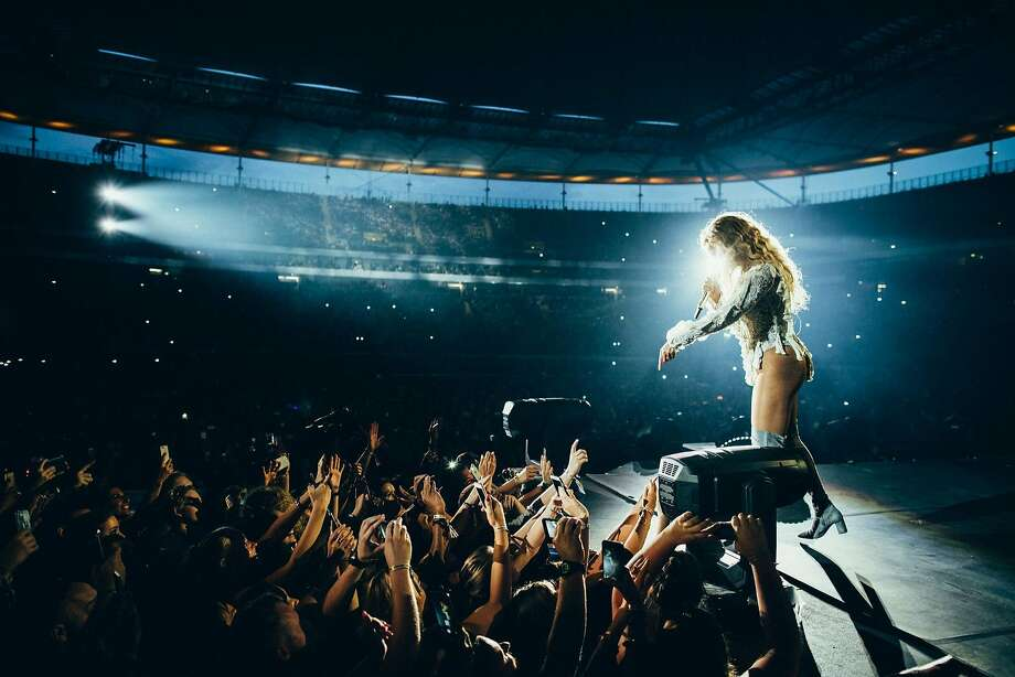 Beyonce performs during the Formation World Tour at Commerzbank Arena on Friday, July 29, 2016 in Frankfurt, Germany. Photo: 13thWitness, Associated Press