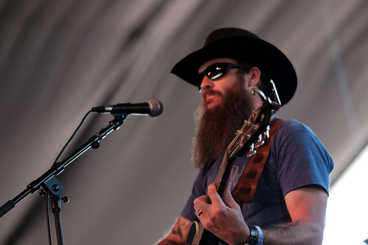 INDIO, CA - APRIL 29: Musician Cody Jinks performs onstage during 2016 Stagecoach California's Country Music Festival at Empire Polo Club on April 29, 2016 in Indio, California. (Photo by Jason Kempin/Getty Images for Stagecoach)