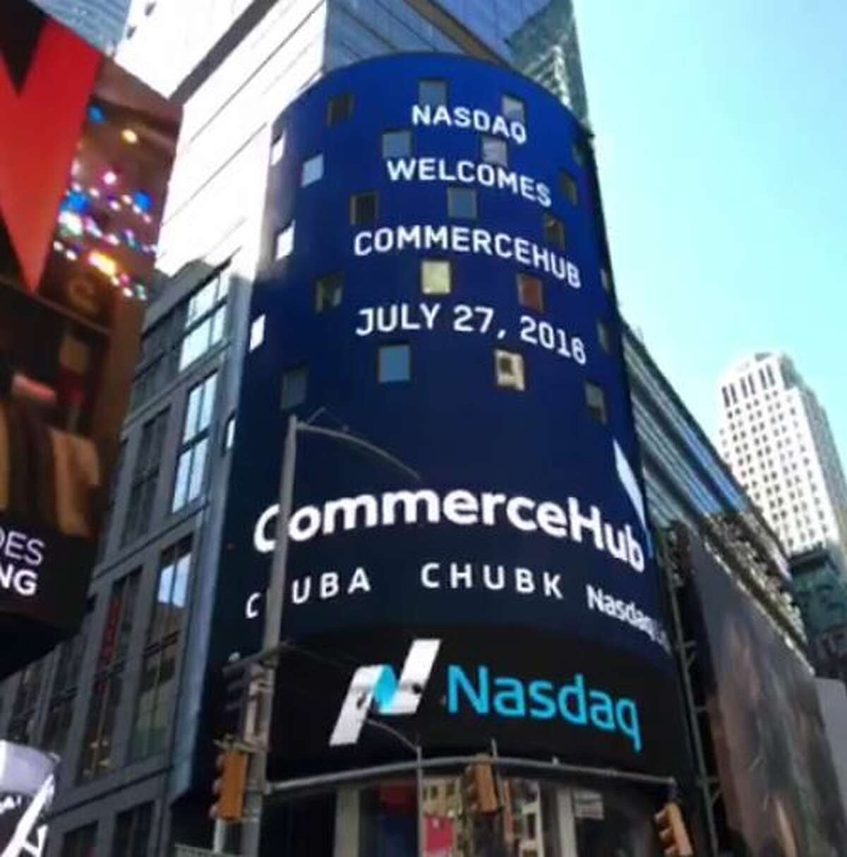 CommerceHub, which makes software used by retailers, went public.