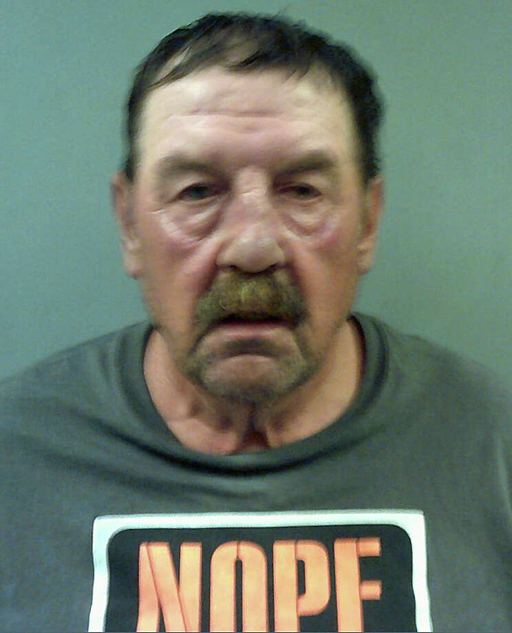 State Police say that Walter Ciepiela, 64, of Asbury Ridge Road, was finally stopped after stop sticks blew out his vehicle's tires near Exit 4 in Bridgeport. Troopers say Ciepiela was first spotted driving southbound in the northbound lanes near Exit 12 in Shelton shortly after midnight on Tuesday, Aug. 9, 2016. Ciepiela was arrested on numerous charges. Photo: Connecticut State Police