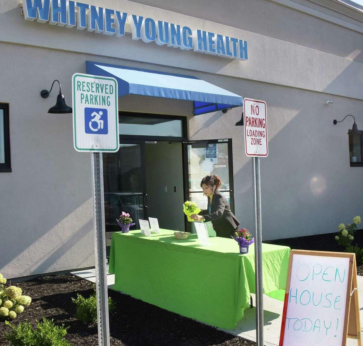 Whitney Young Health readies to unveil their newest facility, the Watervliet Health Center Tuesday Aug. 9, 2016 in Watervliet, NY. (John Carl D'Annibale / Times Union)
