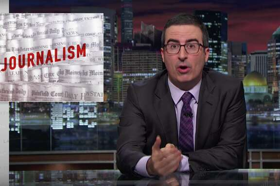"John Oliver's ""Last Week Tonight,"" Aug. 7, 2016."