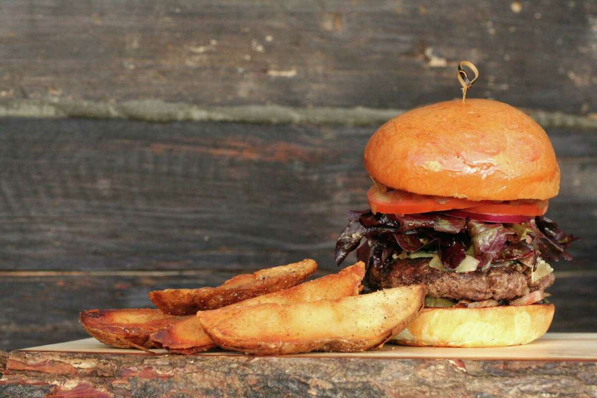 The Bosscat Burger from Bosscat Kitchen & Libations, a new restaurant and whiskey bar opening fall 2016 at 4310 Westheimer.
