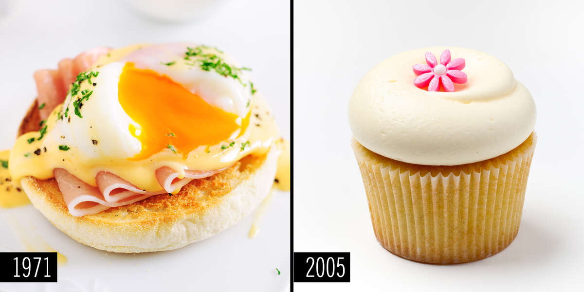 Trends in food, like those in fashion and beauty, have changed a lot in the last 40 or so years.