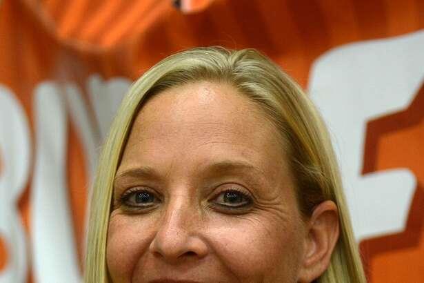 Klein Oak Head Volleyball Coach Christie Mewis