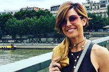 Ever the world traveler, Channel 2 anchor   Dominique Sachse   went to Paris this summer.   Photo:  Instagram/dominiquesachse