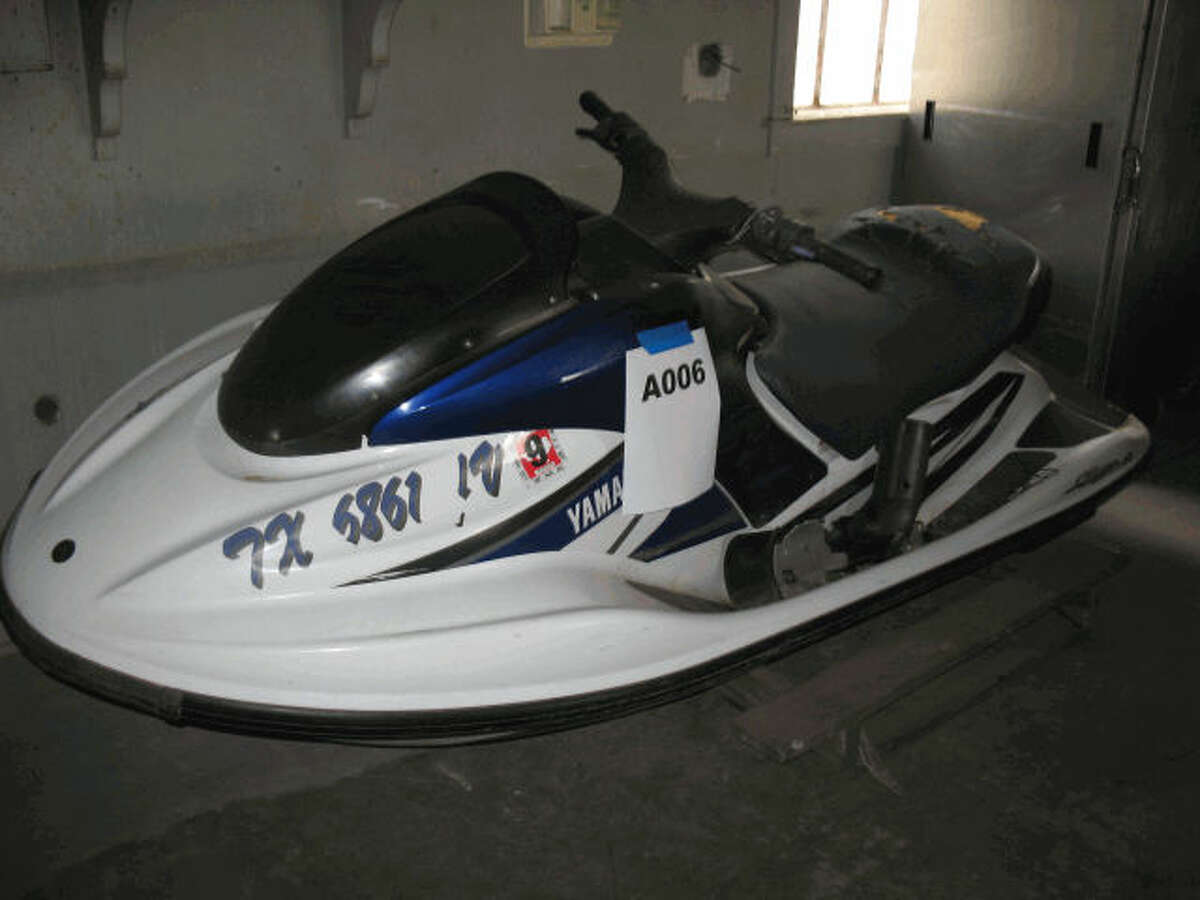 Item: Yamaha Jet Ski Agency: Potter County, Texas Starting bid: $100 Auction closes: Aug. 16, 2016, at 10 a.m.