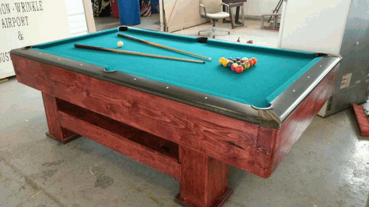 Item: Billiard table Agency: Big Spring, Texas Starting bid: $5 Auction closes: Aug. 17, 2016, at 3 p.m.