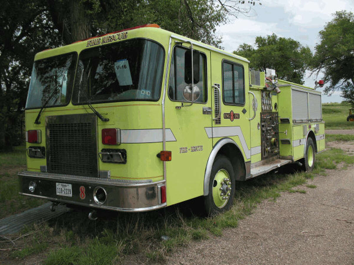 Item: Fire truck Agency: Potter County, Texas Starting bid: $1,000 Auction closes: Aug. 16, 2016, at 10 a.m.
