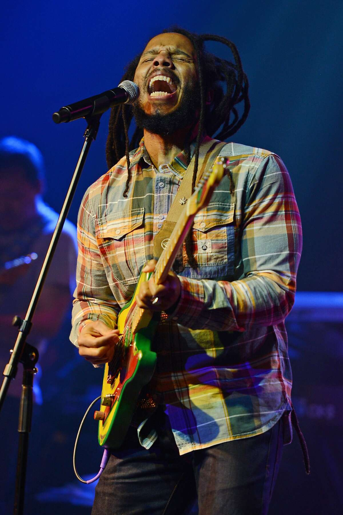 Ziggy Marley performs at Revolution on February 19, 2013 in Fort Lauderdale, Florida.