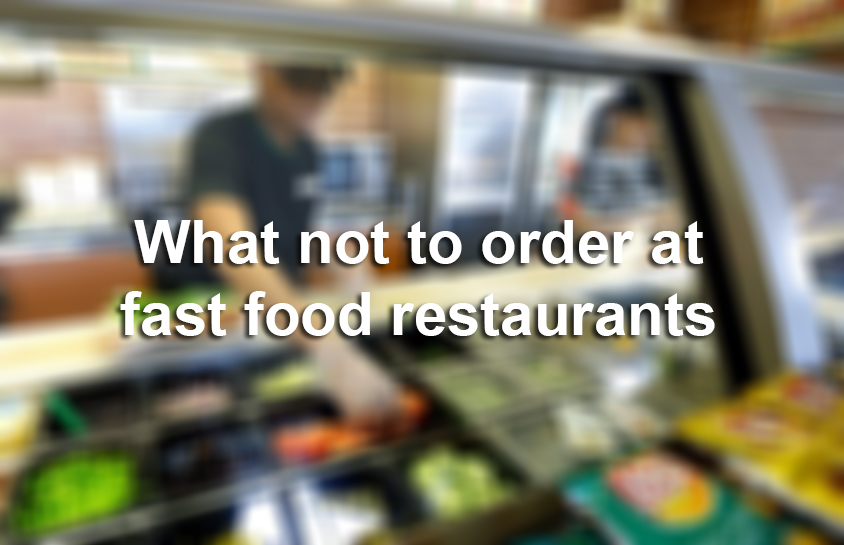 Fast food workers of Reddit reveal what you should never