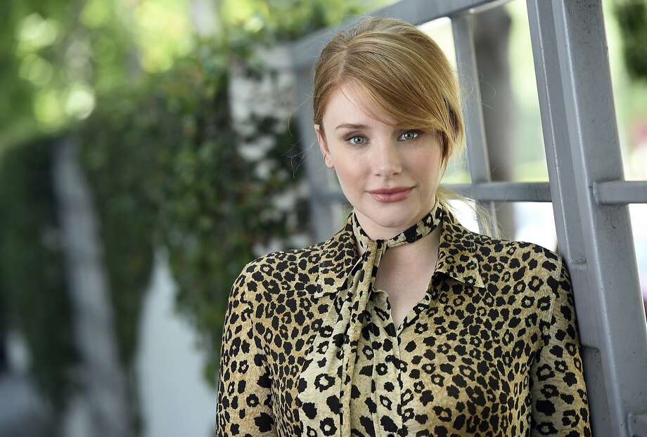 """In this July 15, 2016 photo, actress Bryce Dallas Howard, a cast member in the film """"Pete's Dragon,"""" poses for a portrait at the SLS Hotel in Beverly Hills, Calif. (Photo by Chris Pizzello/Invision/AP) Photo: Chris Pizzello, Associated Press"""