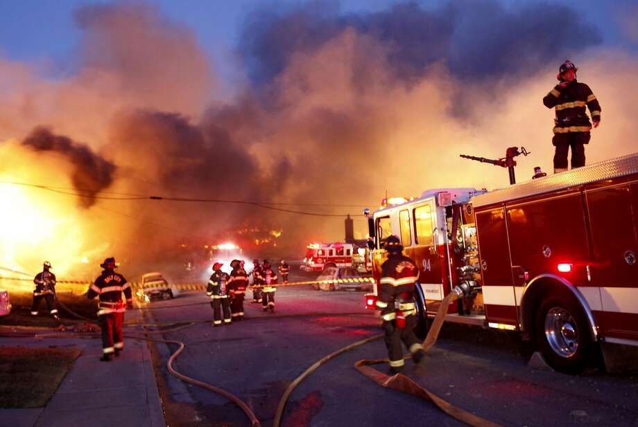 The 2010 San Bruno pipeline explosion killed 8 people. Photo: Brant Ward, The Chronicle