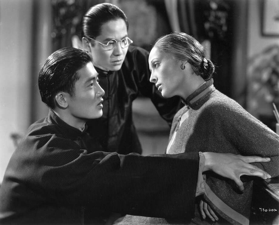 "Roland Got (left), in his first role, with Keye Luke and Luise Rainer in ""The Good Earth"" (1937). Photo: MGM 1937"