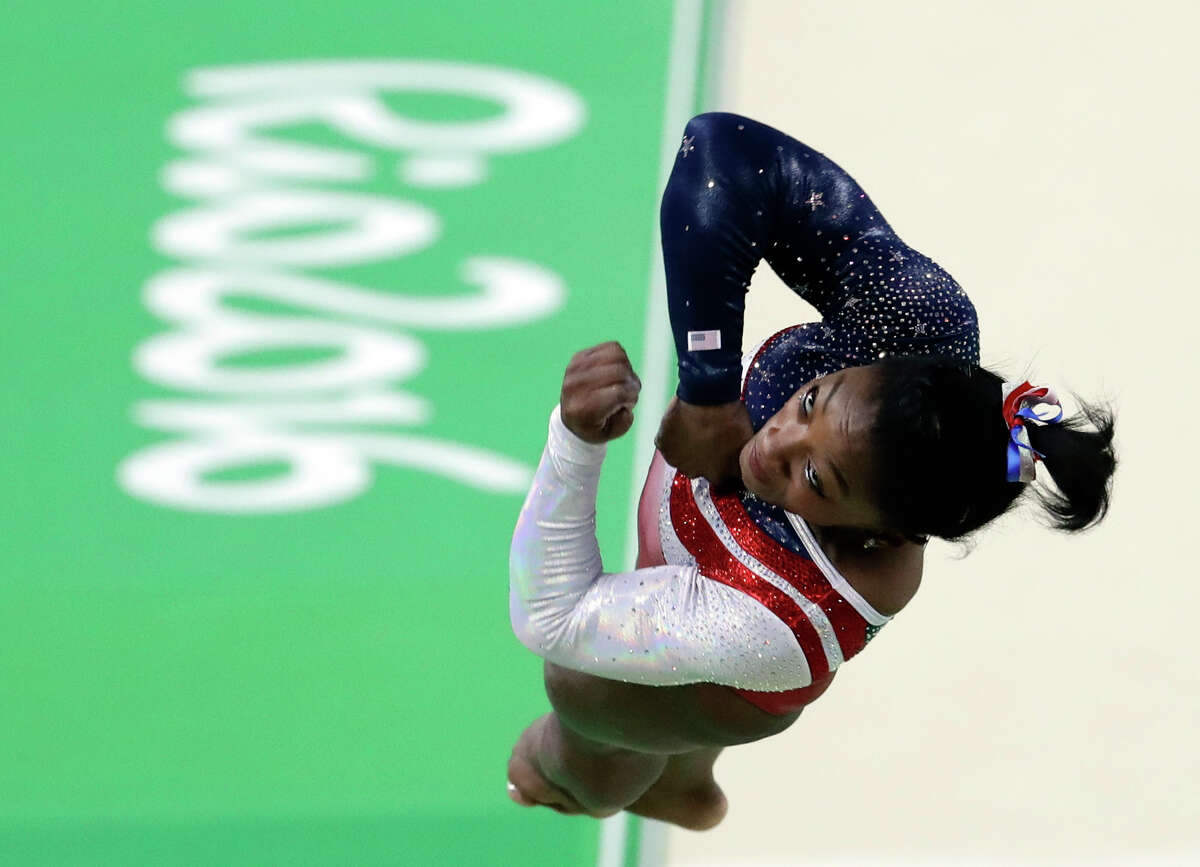 We all know she's amazing (14 World gymnastic medals in three years.)
