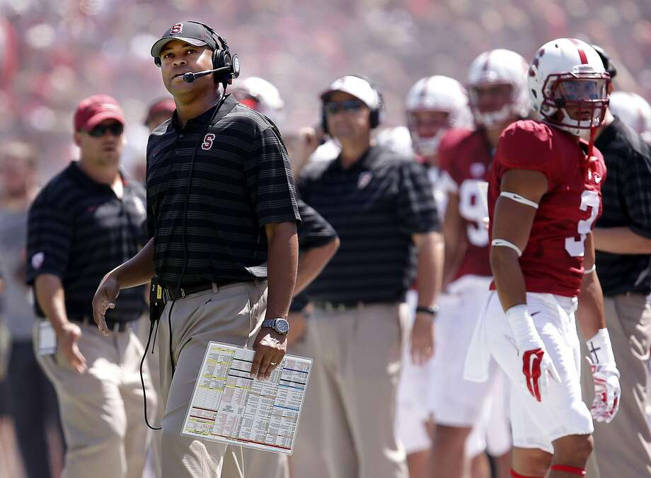 Head coach David Shaw can't forget last year's opening loss to Northwestern, and is tinkering with how the team practices. Photo: Michael Macor, The Chronicle
