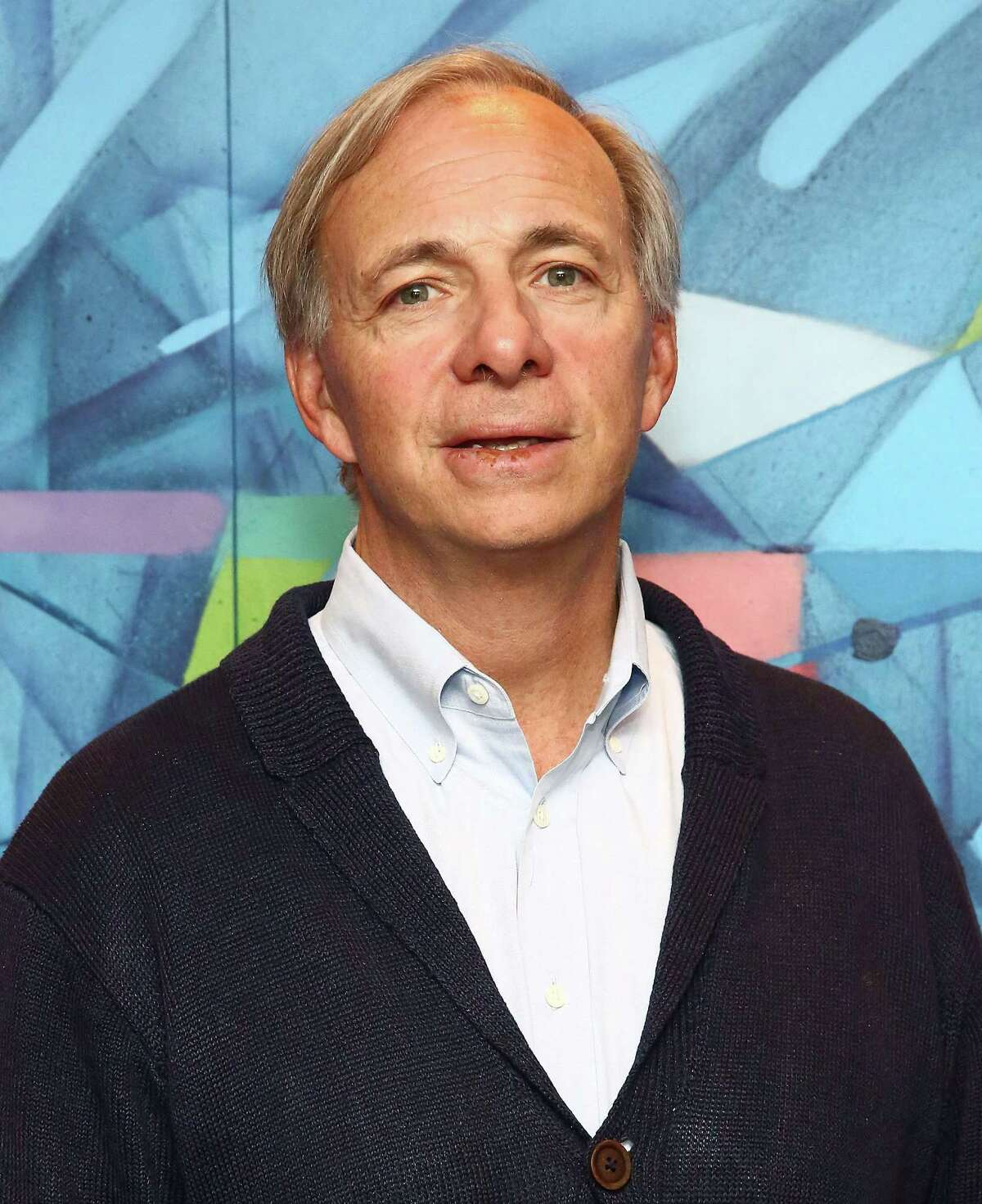 Bridgewater Associates founder Ray Dalio in April 2016 at the New York City offices of LinkedIn. (Photo by Astrid Stawiarz/Getty Images)