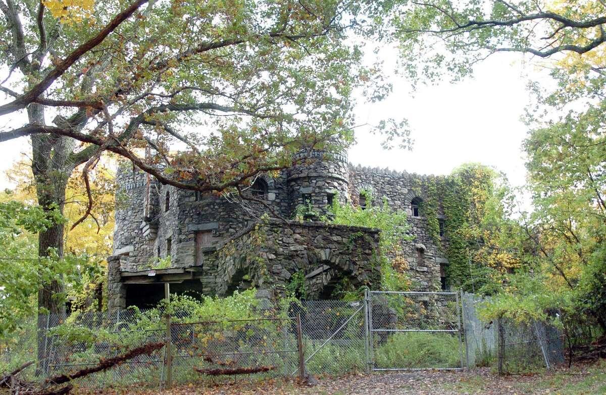Hearthstone Castle at Tarrywile Park in Danbury.