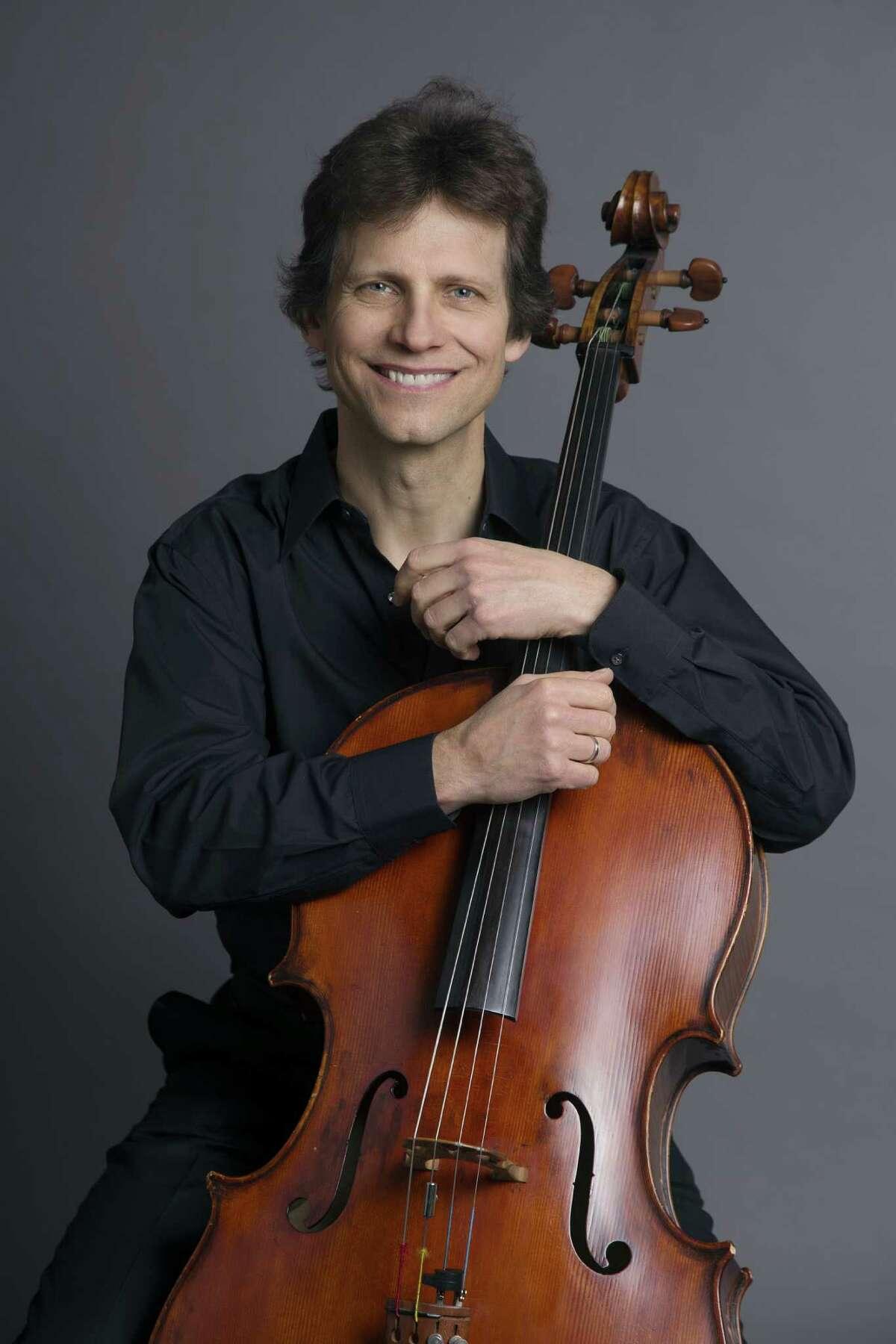 Philadelphia Orchestra cellist Bob Cafaro (photo courtesy Bob Cafaro)