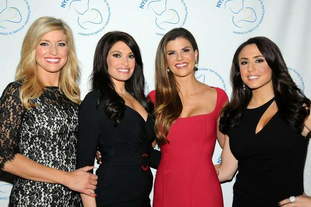 NEW YORK, NY - NOVEMBER 17:  (L-R) Ainsley Earhardt, Kimberly Guilfoyle, Dendy Engelman and Andrea Tantaros attend 2014 New York Society For The Prevention Of Cruelty To Children Fall Benefit at Metropolitan Club on November 17, 2014 in New York City.  (Photo by Desiree Navarro/WireImage)