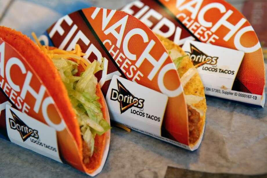 """With their """"Steal a Base, Steal a Taco"""" promotion, Taco Bell is set to give away Locos Tacos to customers across the U.S. if a base is stolen during the World Series. Photo: Bloomberg"""