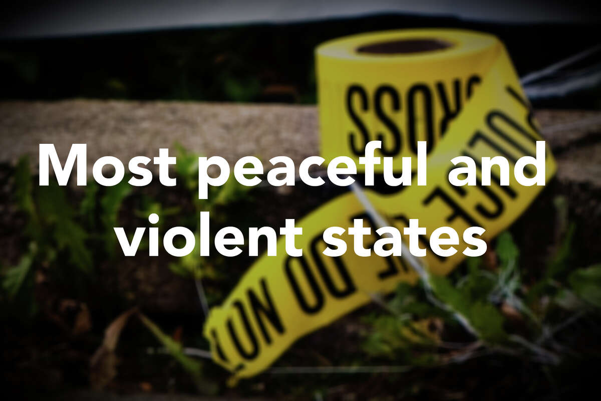 24/7 Wall St. ranked the peacefulness of each U.S. state; states with high violent crime and homicide rates, as well as high estimated small arms ownership and high incarceration rates were identified as less peaceful, while states with lower incidences of these factors were more peaceful. Click through the slideshow to see the most peaceful and violent states, and visit 24/7 Wall St. for the full report.